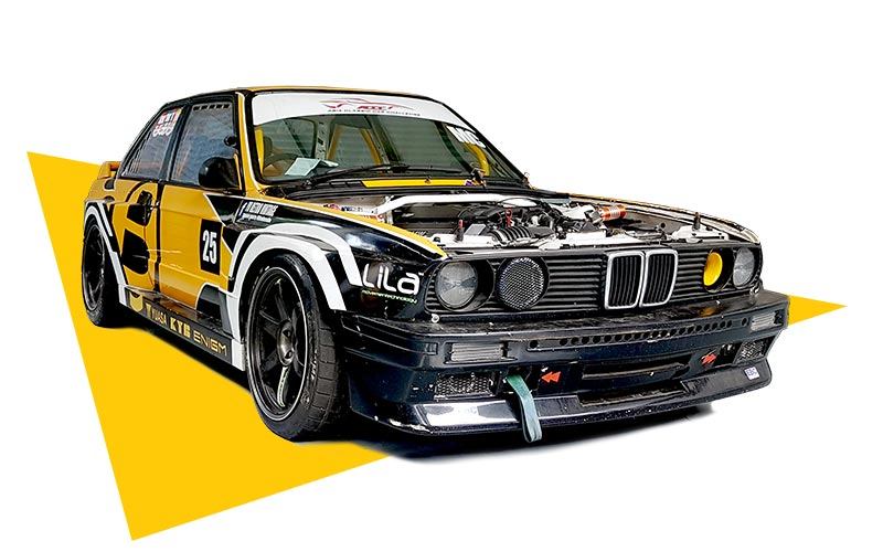 BMW Race Car For Rent in Thailand