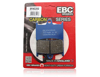 EBC Carbon Scooter Pads